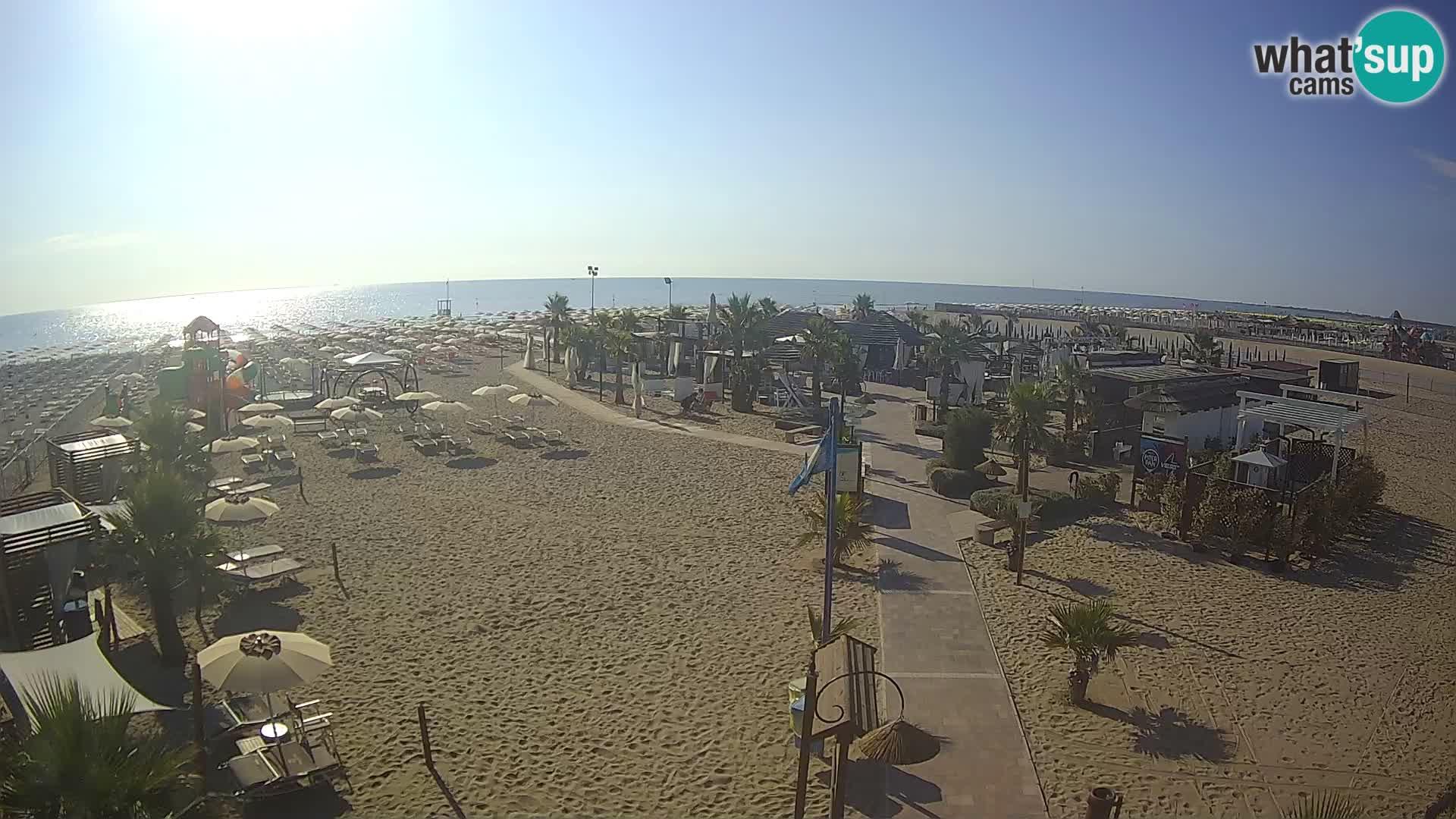 En vivo Bagno Primavera Beach – Piazzale Europa Rosolina Mare webcam