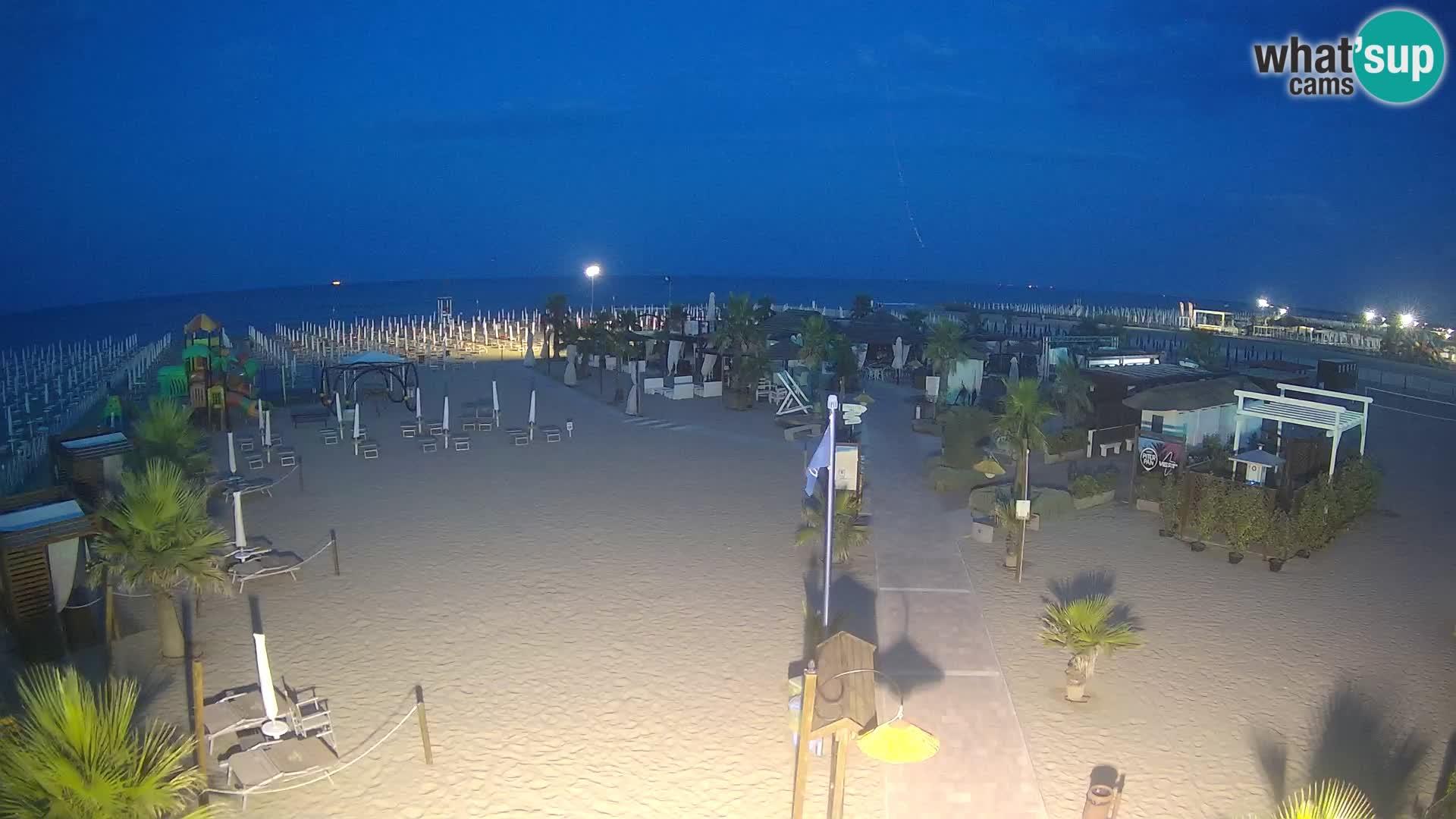 V živo Bagno Primavera Beach – Piazzale Europa Rosolina Mare webcam