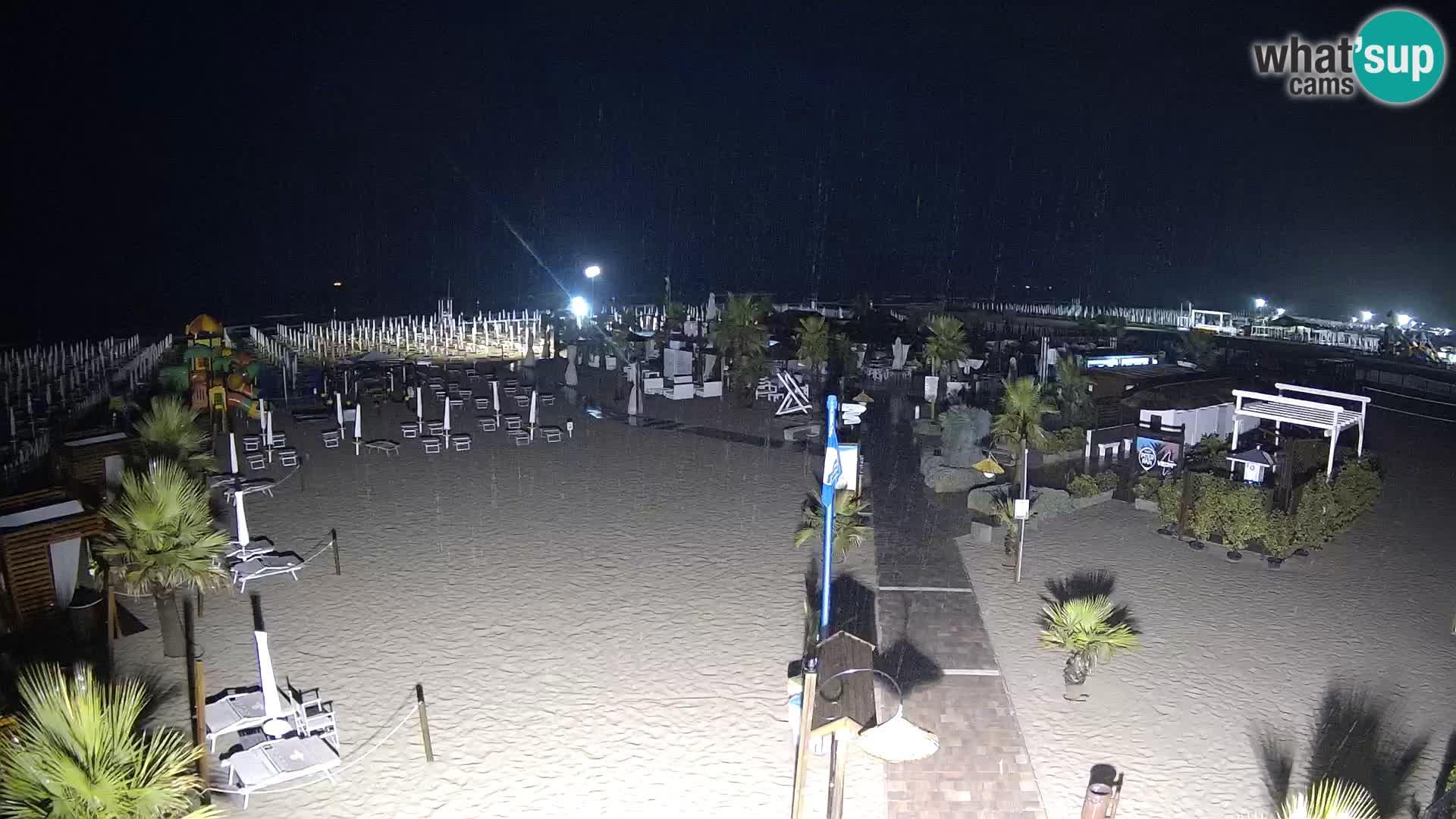 Bagno Primavera Beach – Piazzale Europa Rosolina Mare Strand webcam