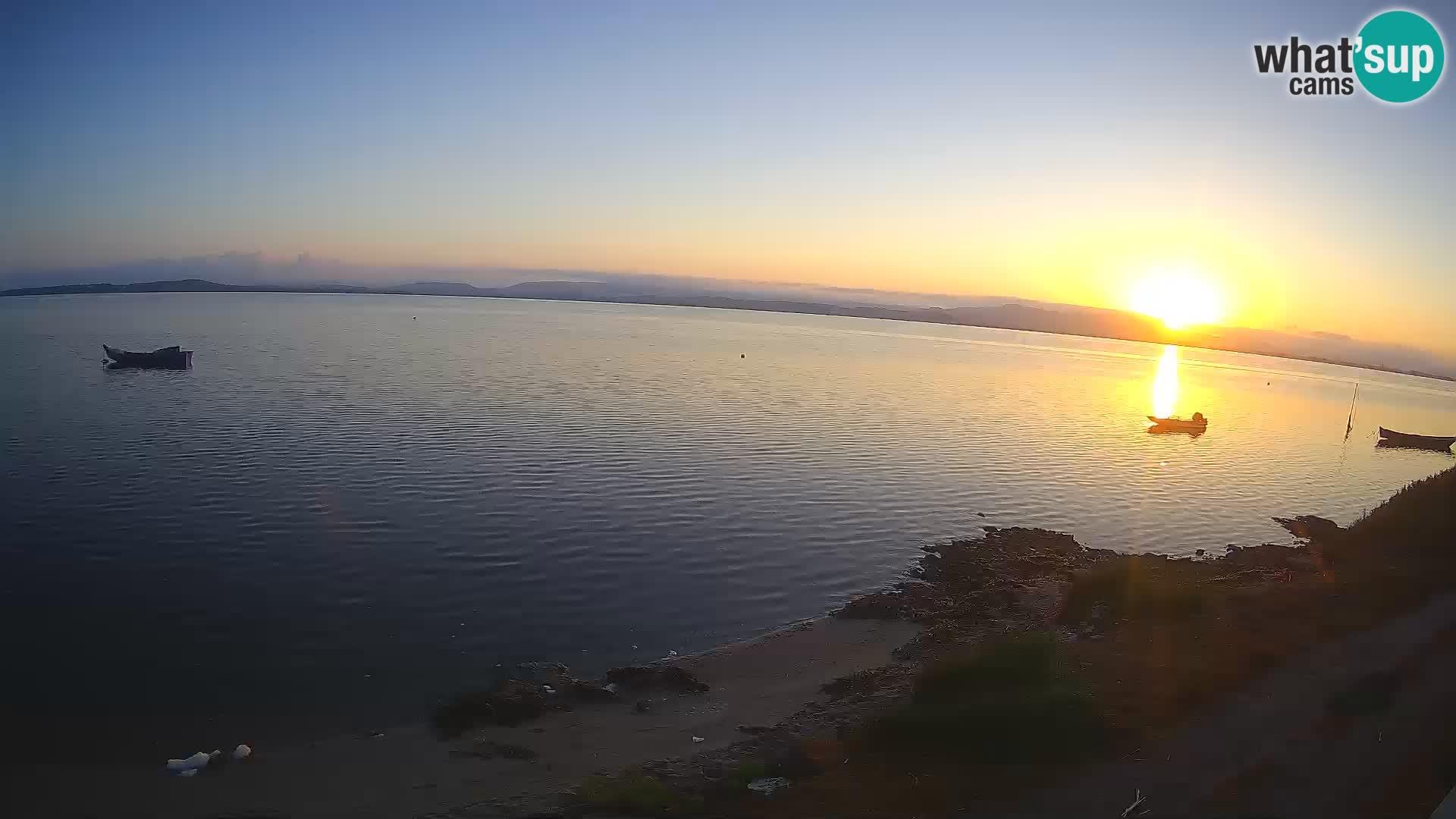 Windsurfing Club Sa Barra camera en vivo Sant'Antioco – Cerdeña – Italia