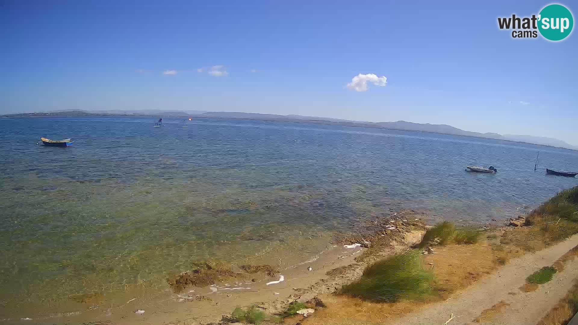 Windsurfing Club Sa Barra livecam Sant'Antioco – Sardaigne – Italie