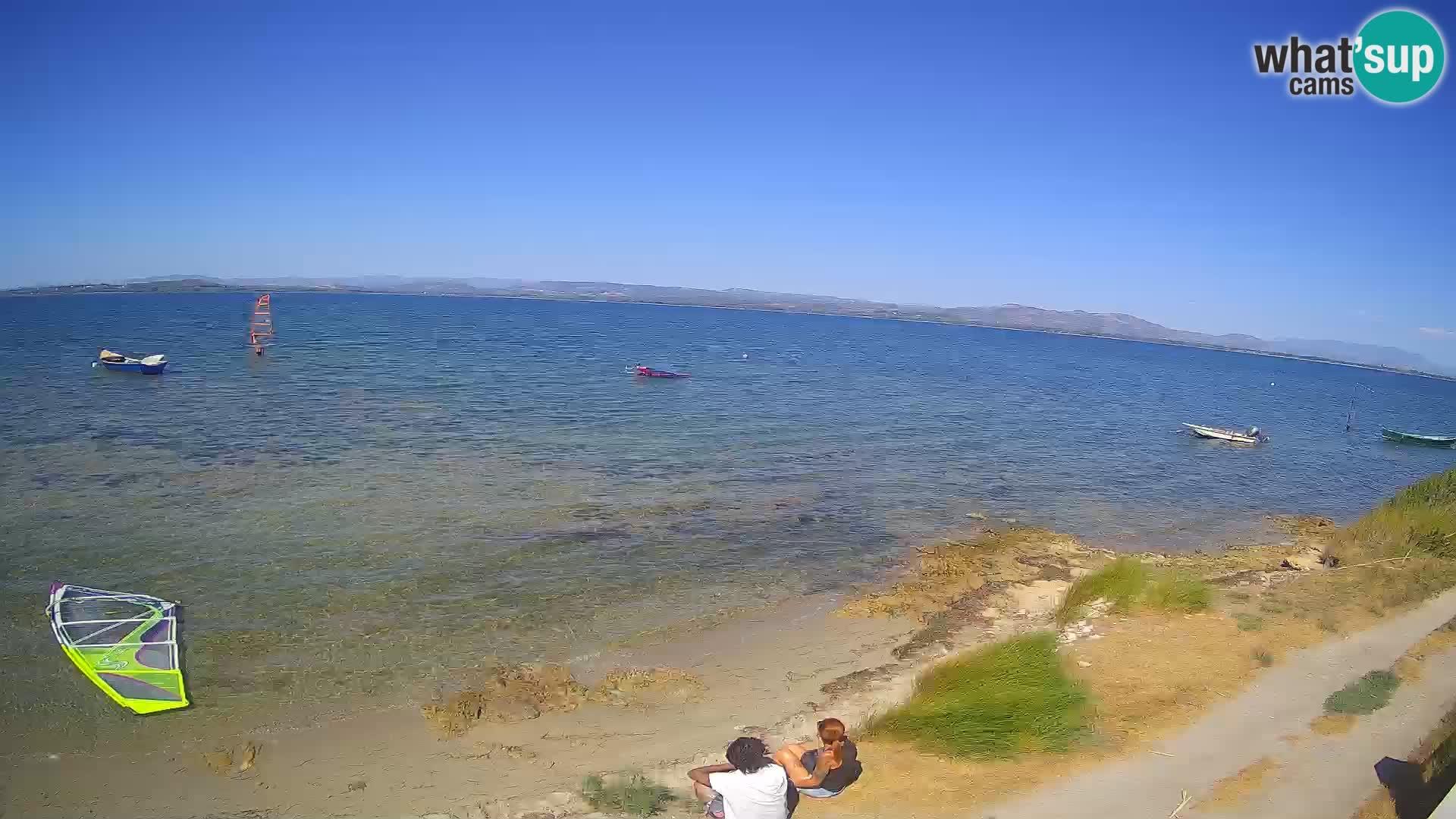 Windsurfing Club Sa Barra Live Webcam Sant'Antioco – Sardinia – Italy