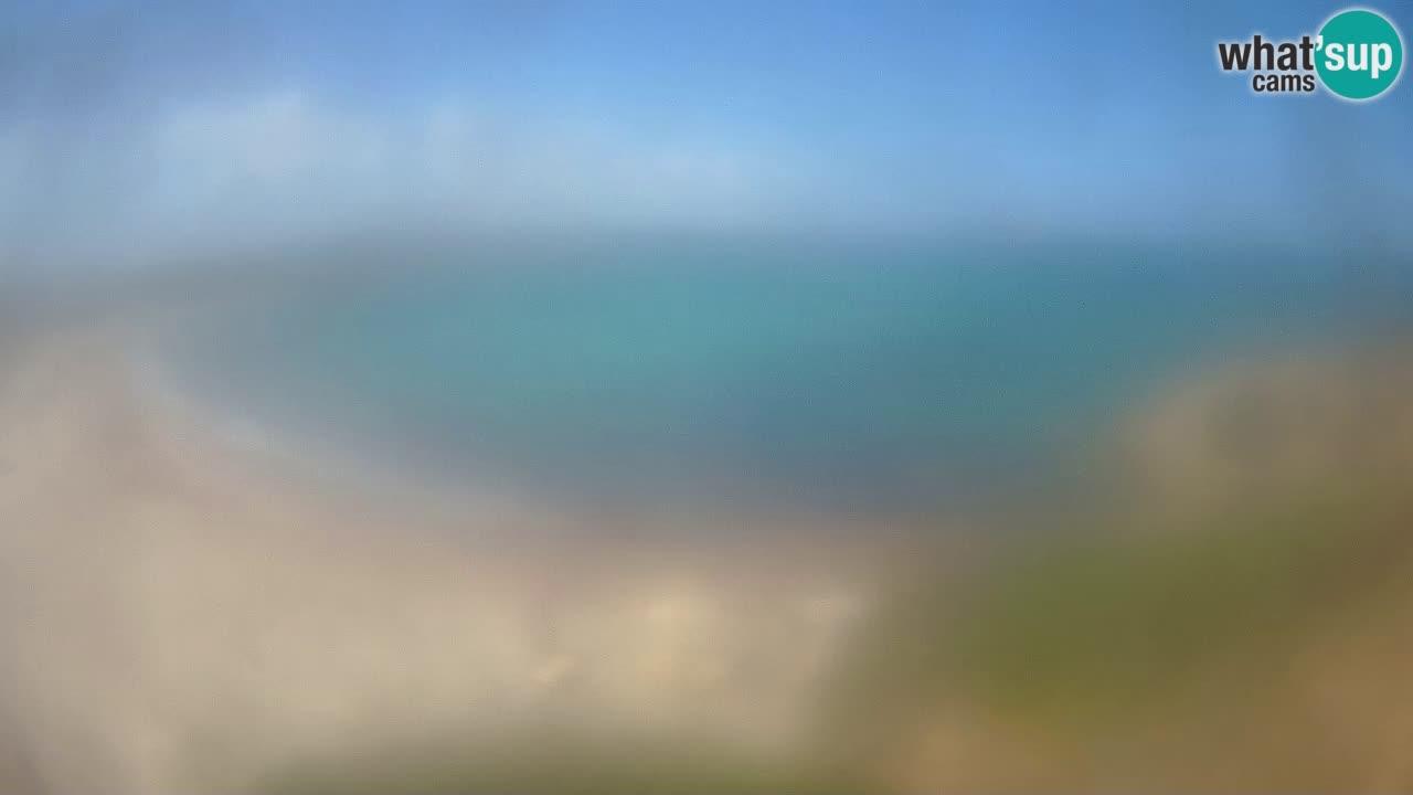 Plaža La Liccia u živo Rena Majore – Santa Teresa Gallura web kamera Sardinija
