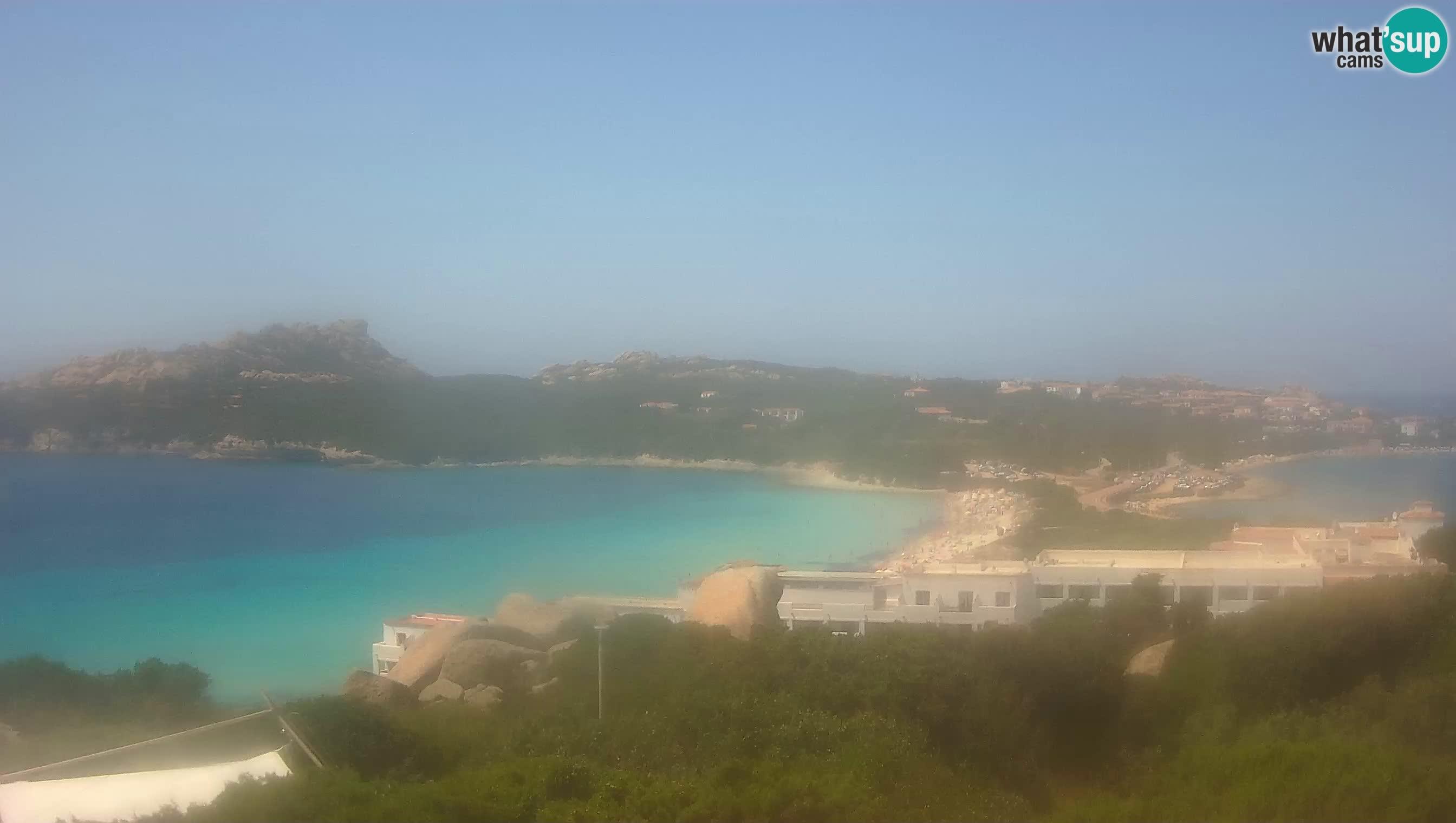 Live Webcam Capo Testa the beach of 2 sea – Santa Teresa Gallura – livecam Sardinia