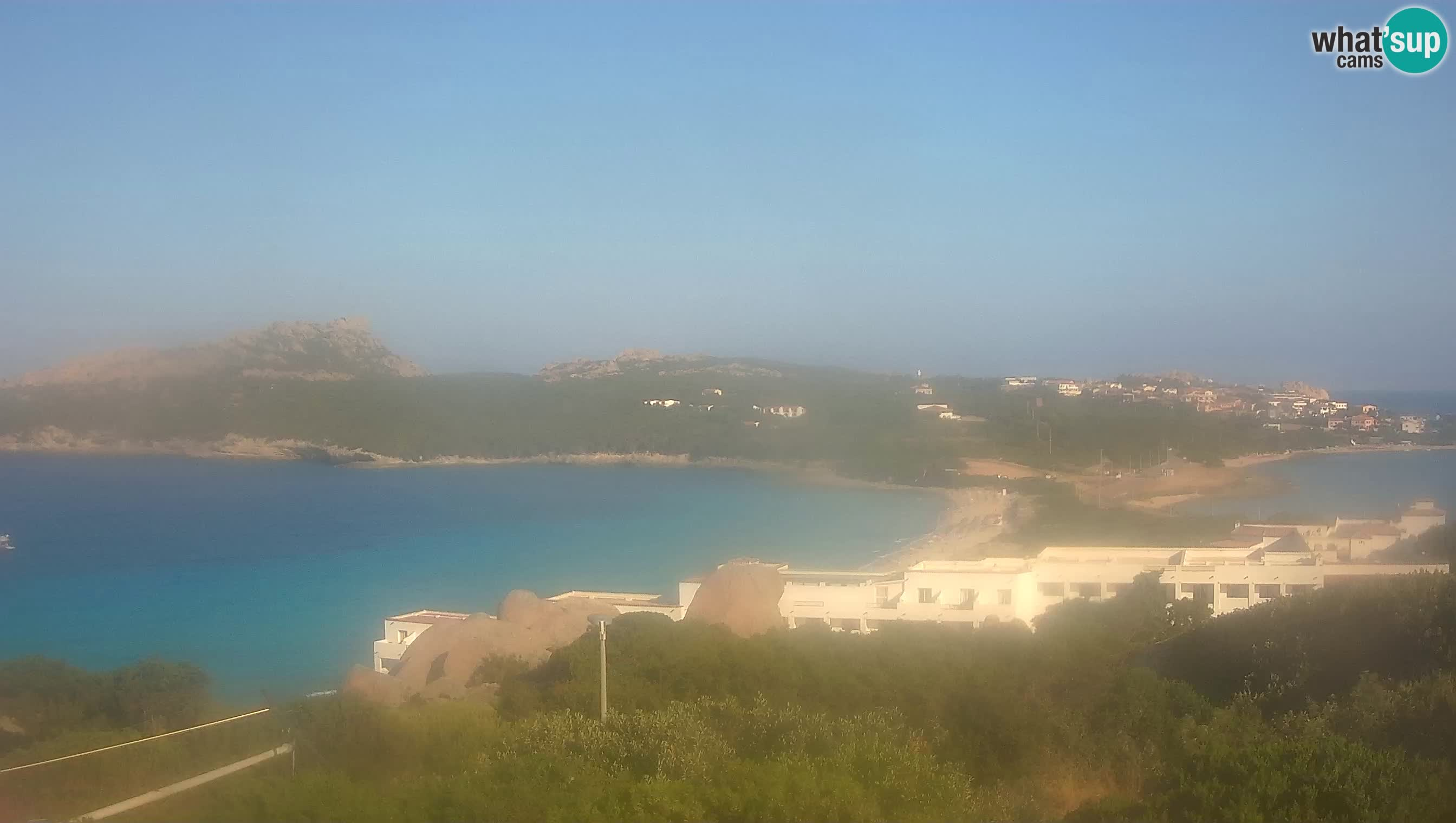 Live Webcam Capo Testa la plage de 2 mer – Santa Teresa Gallura – livecam Sardaigne