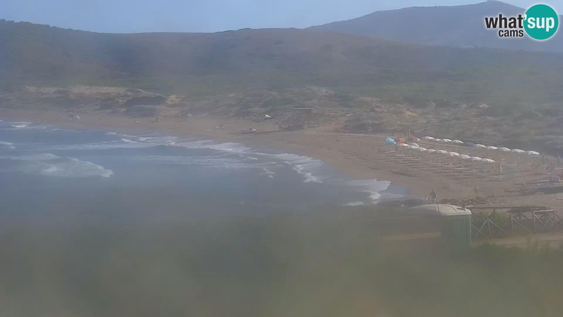 Porto Ferro webcam Sassari – playas de Cerdeña Live cam