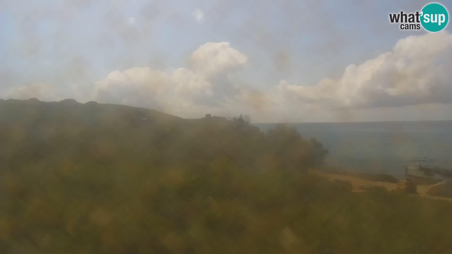 Porto Ferro webcam Sassari – Sardinia beaches Live cam