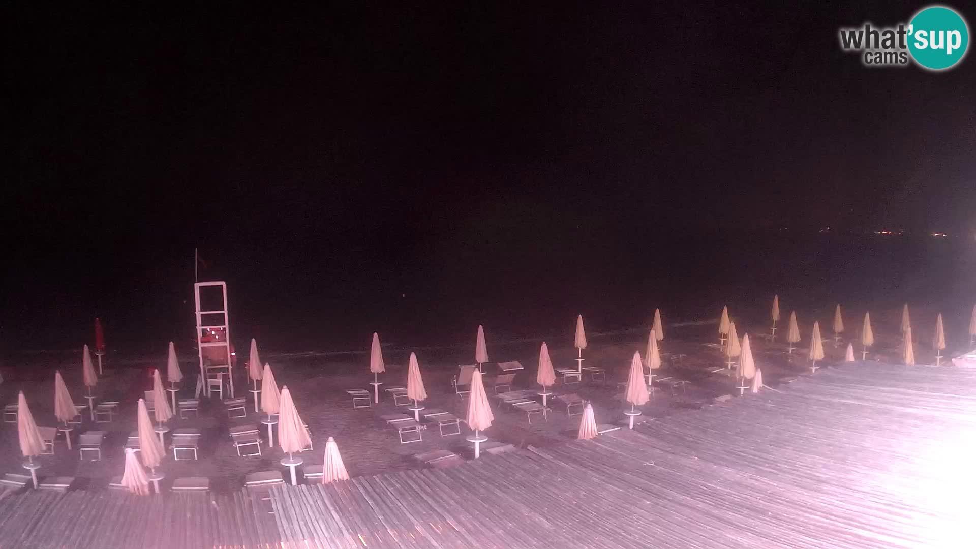 Spletna kamera v živo plaža Platamona – Sassari – Sardinija – Italija