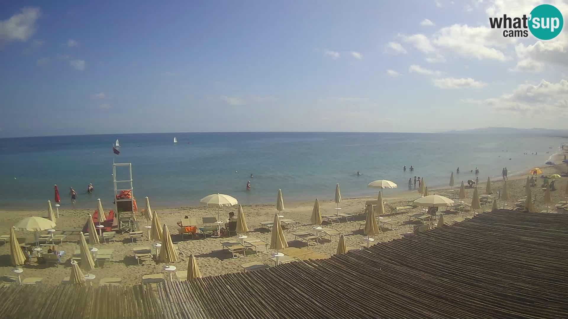 Webcam en direct Plage de Platamona – Sassari – Sardaigne – Italie