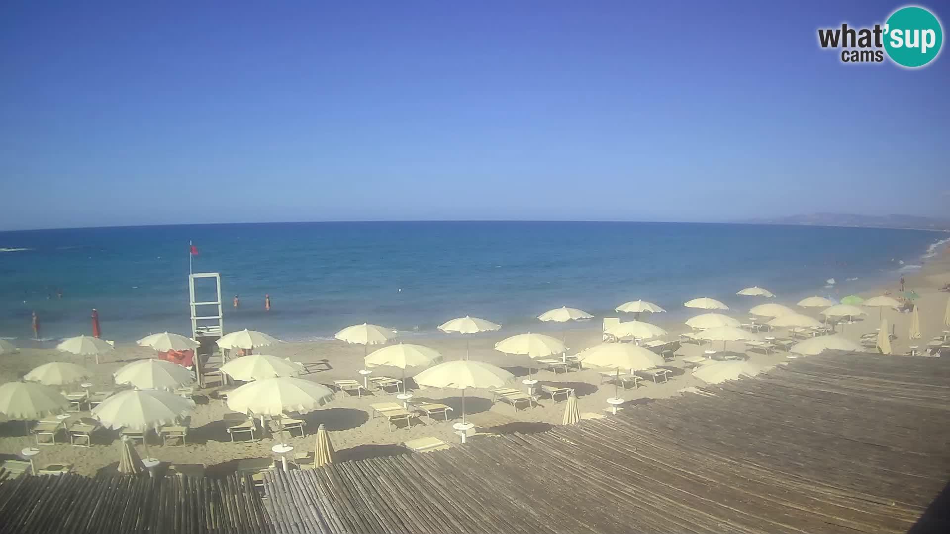 Live-Webcam Strand von Platamona – Sassari – Sardinien – Italien