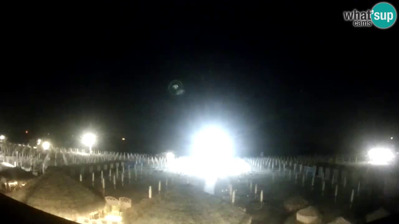 Webcam Sottomarina – La spiagia – Bagni Oasi