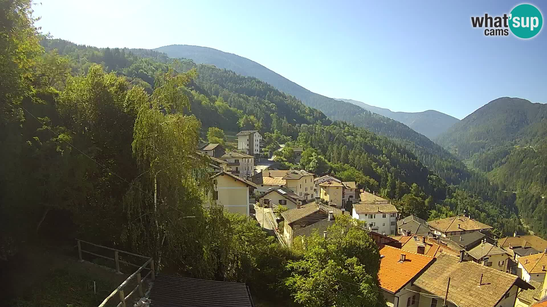 Livecam Sover – Trentino Alto Adige webcam Catena del Lagorai