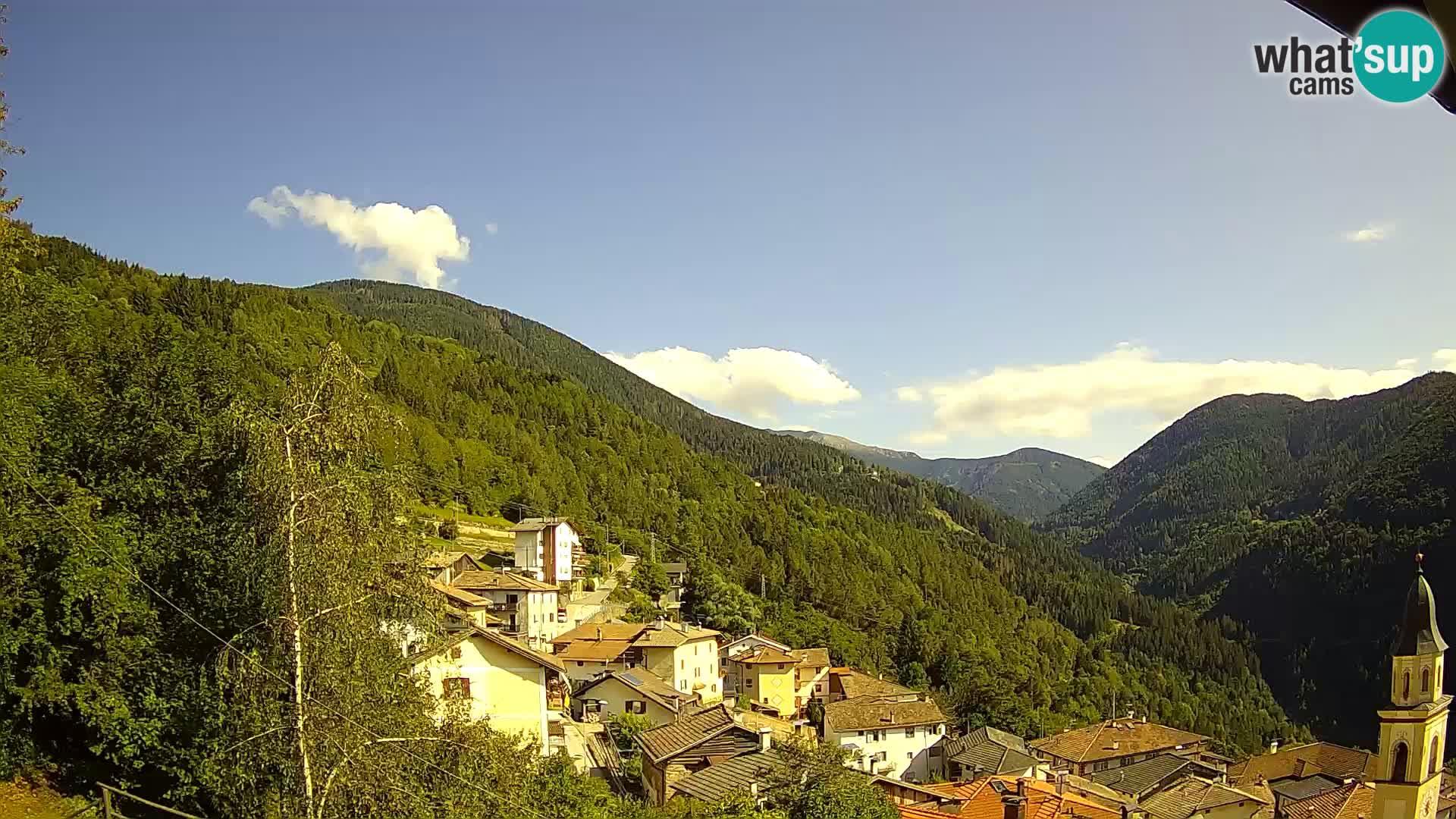 Web kamera Sover – pogled na gorovje Lagorai