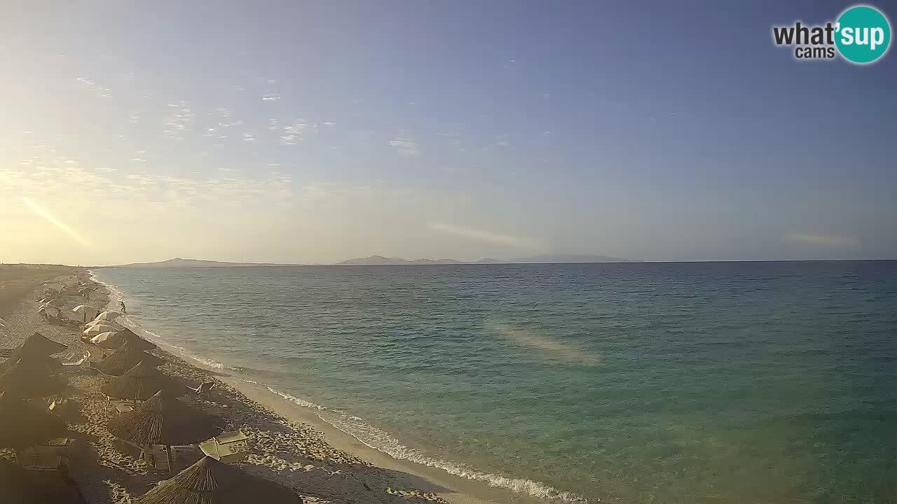 Plaža Le Saline web kamera Stintino – Sardinija