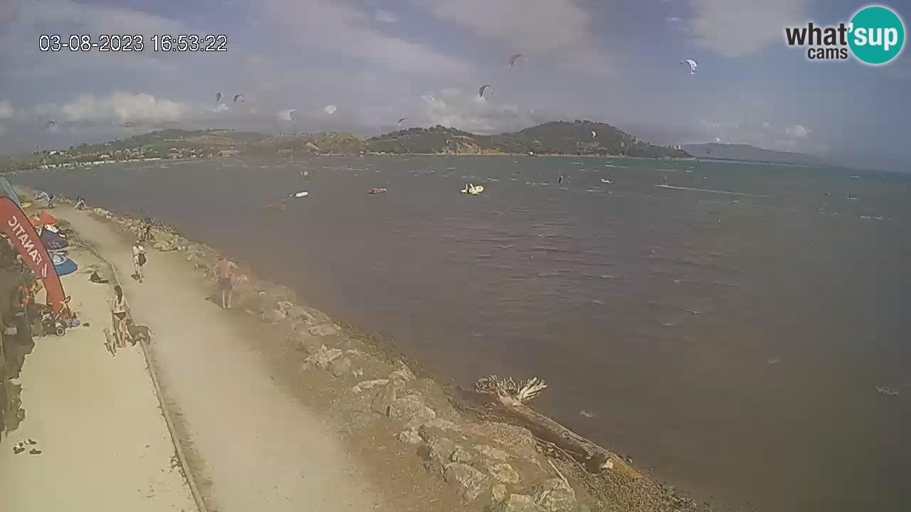 Talamone webcam