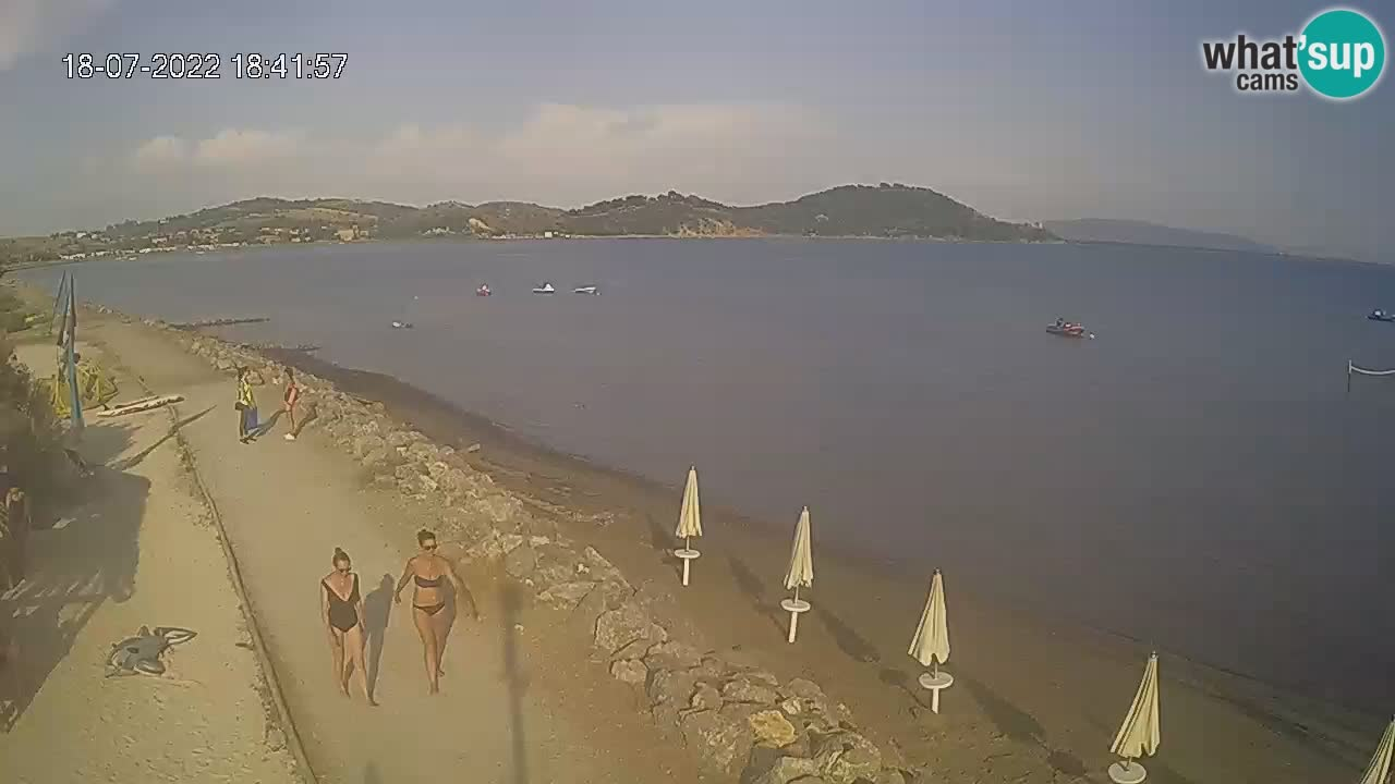 Livecam Baia di Talamone – Wind Surf e Kite Surf