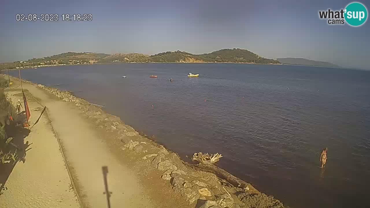 Live webcam Baia di Talamone – Wind Surf e Kite Surf