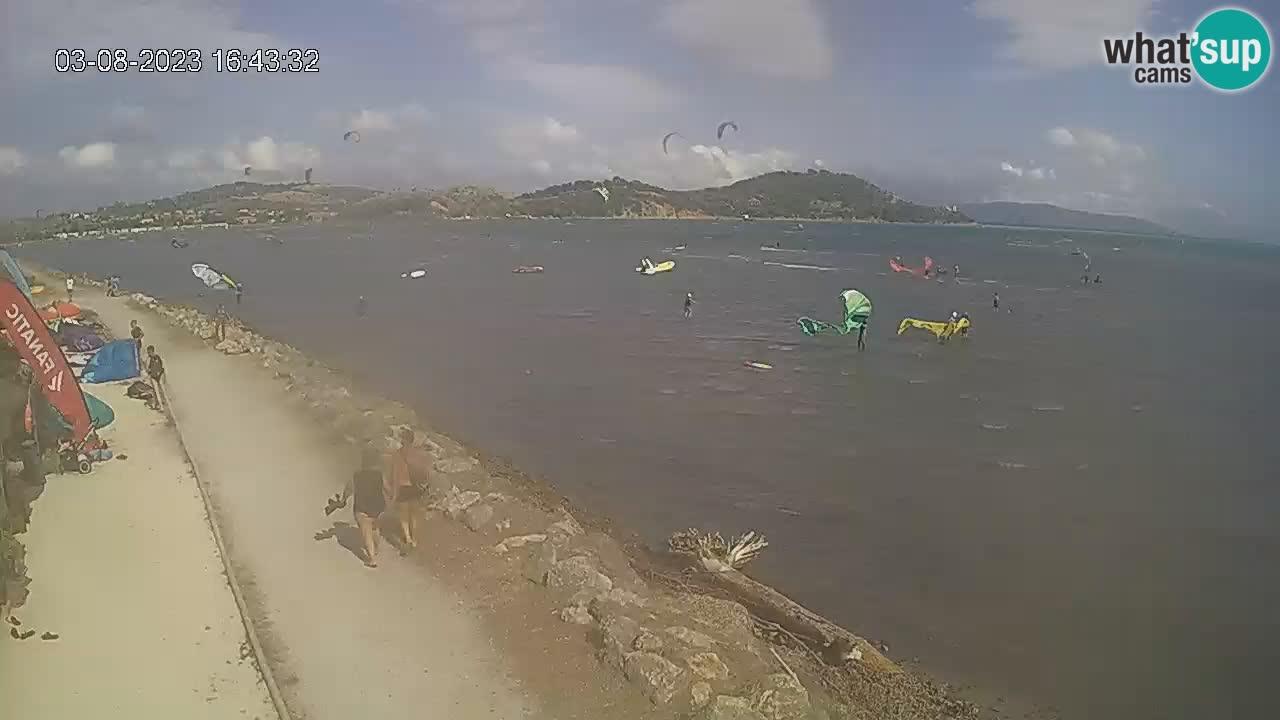 Talamone webcam – Hibiscus Escola de surf