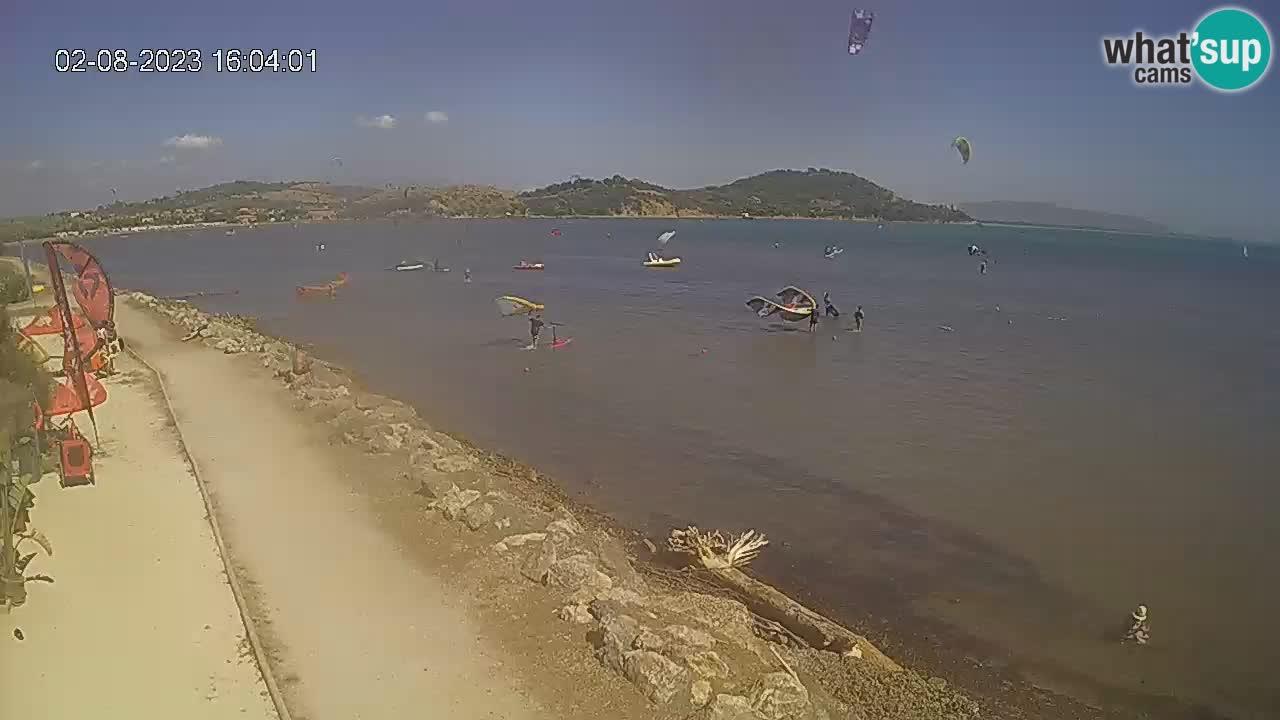 Webcam Baia di Talamone – Wind Surf e Kite Surf