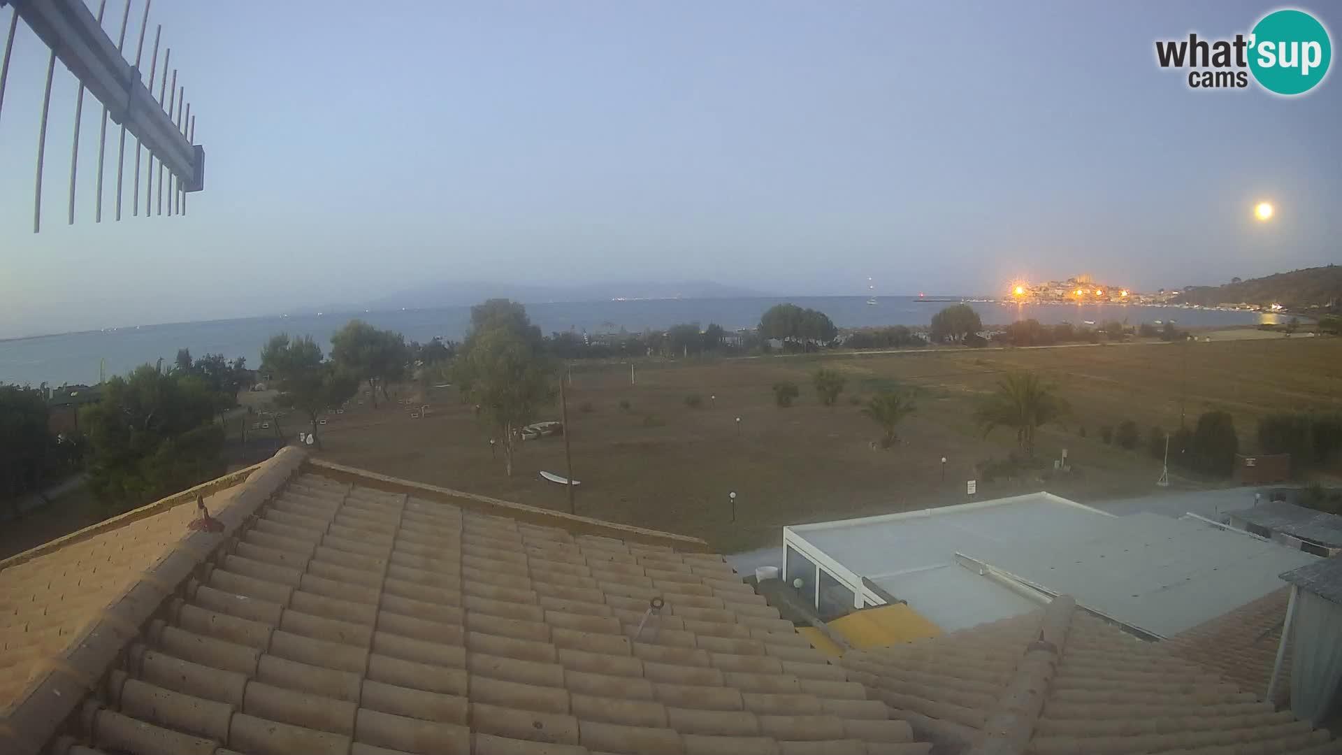 Talamone webcam Orbetello – Toscana – vista sobre el golfo