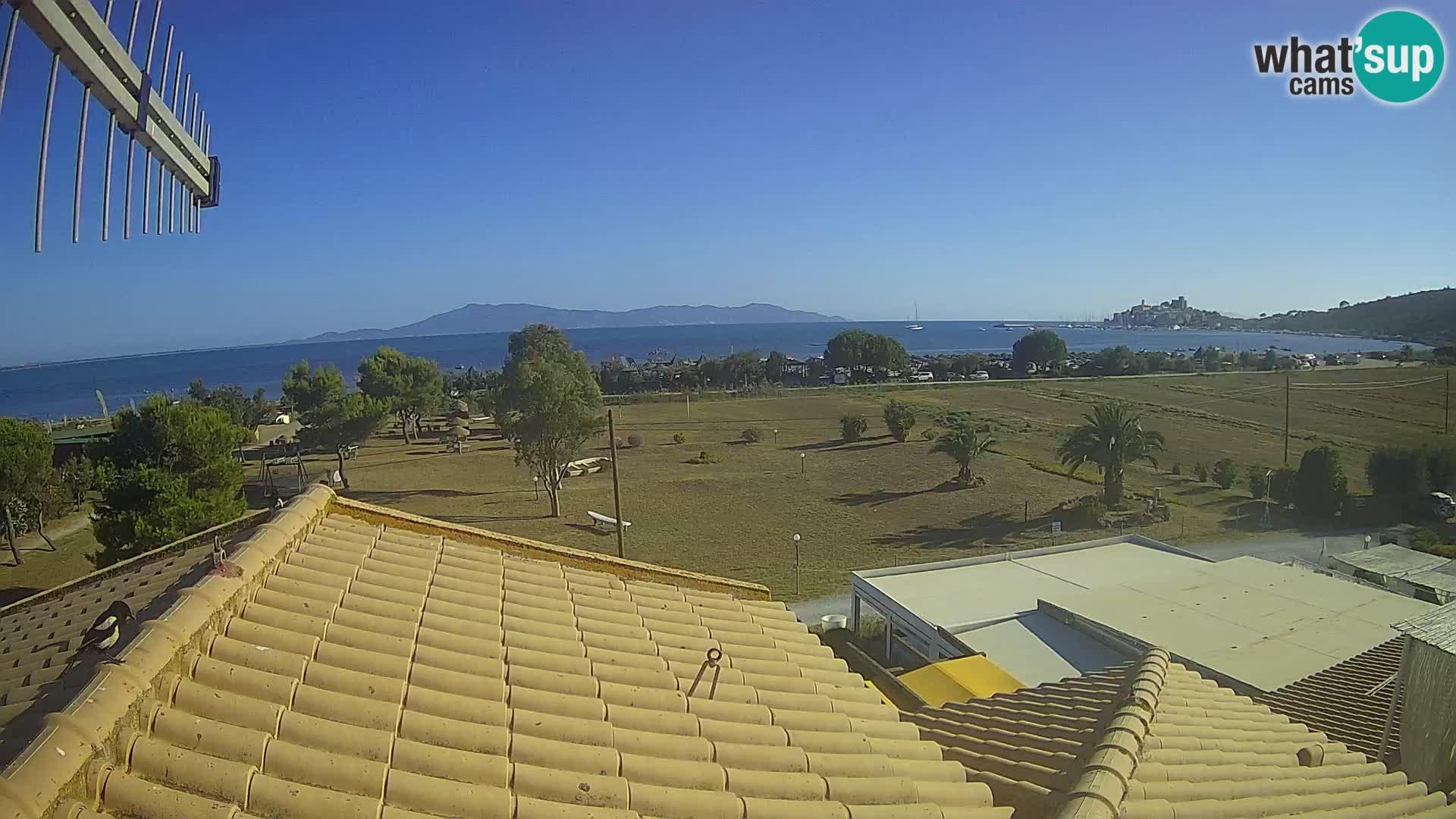 Webcam Talamone Orbetello – Toscane – vue sur le Golfe