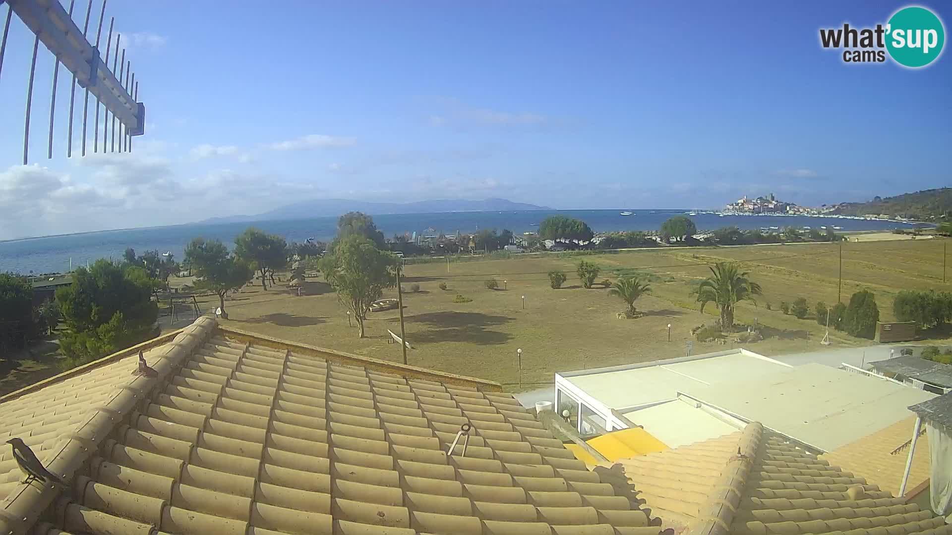 Talamone webcam Orbetello – Tuscany – view on the Gulf