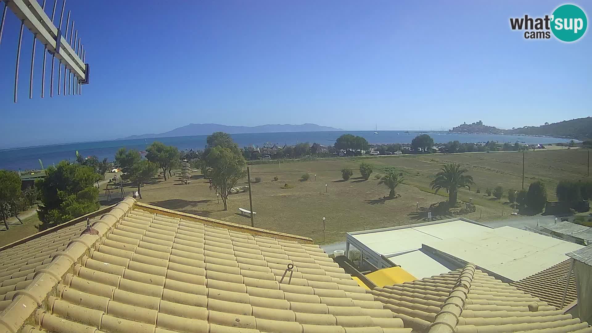 Talamone webcam Orbetello – Toscana – vista sul Golfo