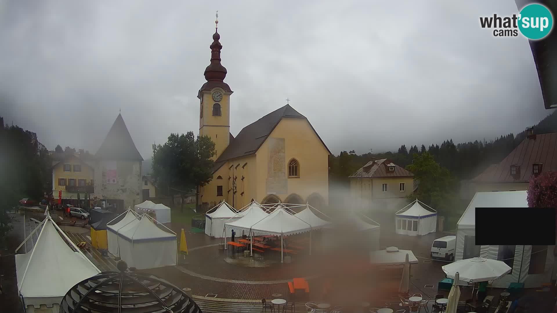 Tarvisio – Piazza Unità / Parrocchia SS.Pietro e Paolo Apostoli