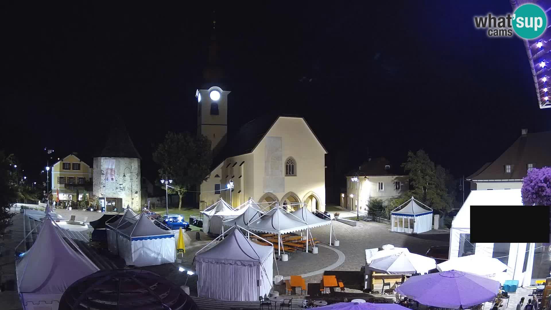 Tarvisio – plaza Unità / Iglesia SS.Pietro e Paolo Apostoli