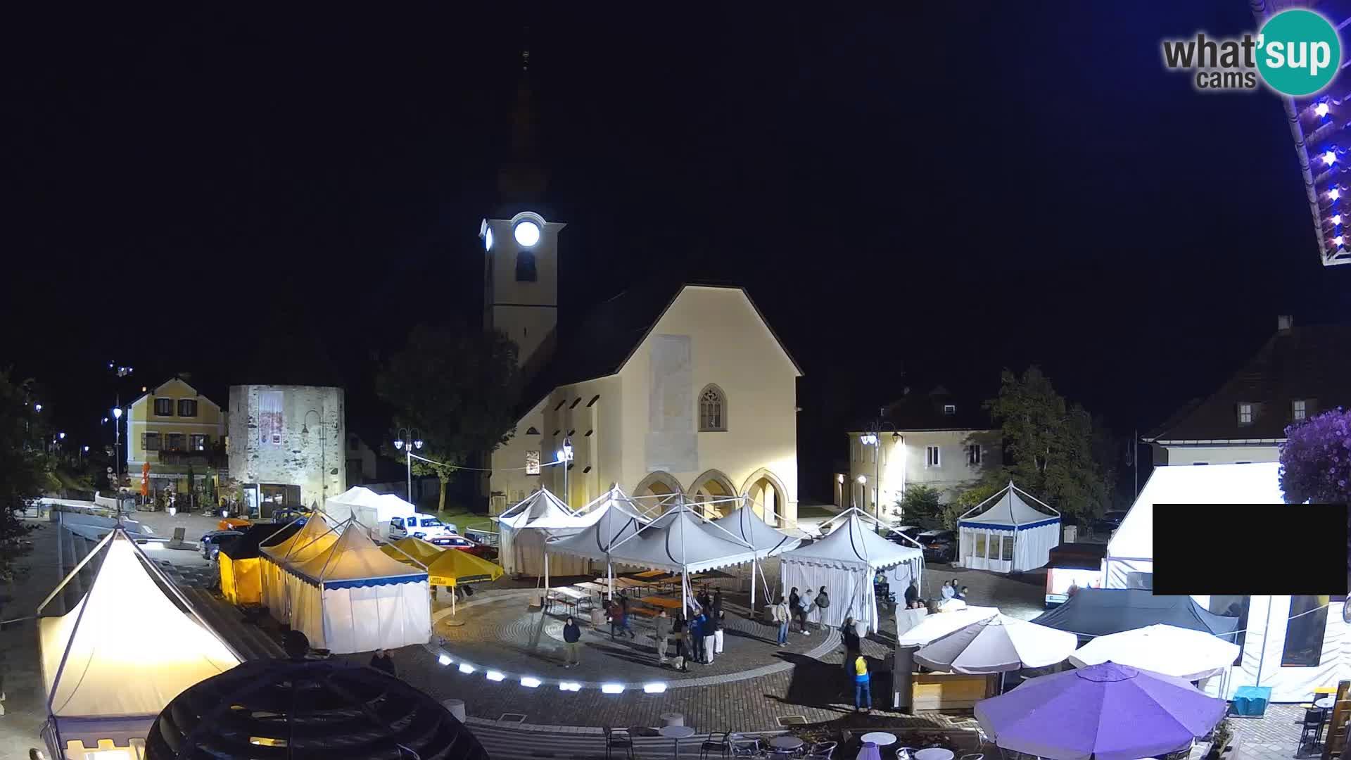 Trbiž – trg Unità / crkva SS.Pietro in Paolo Apostoli