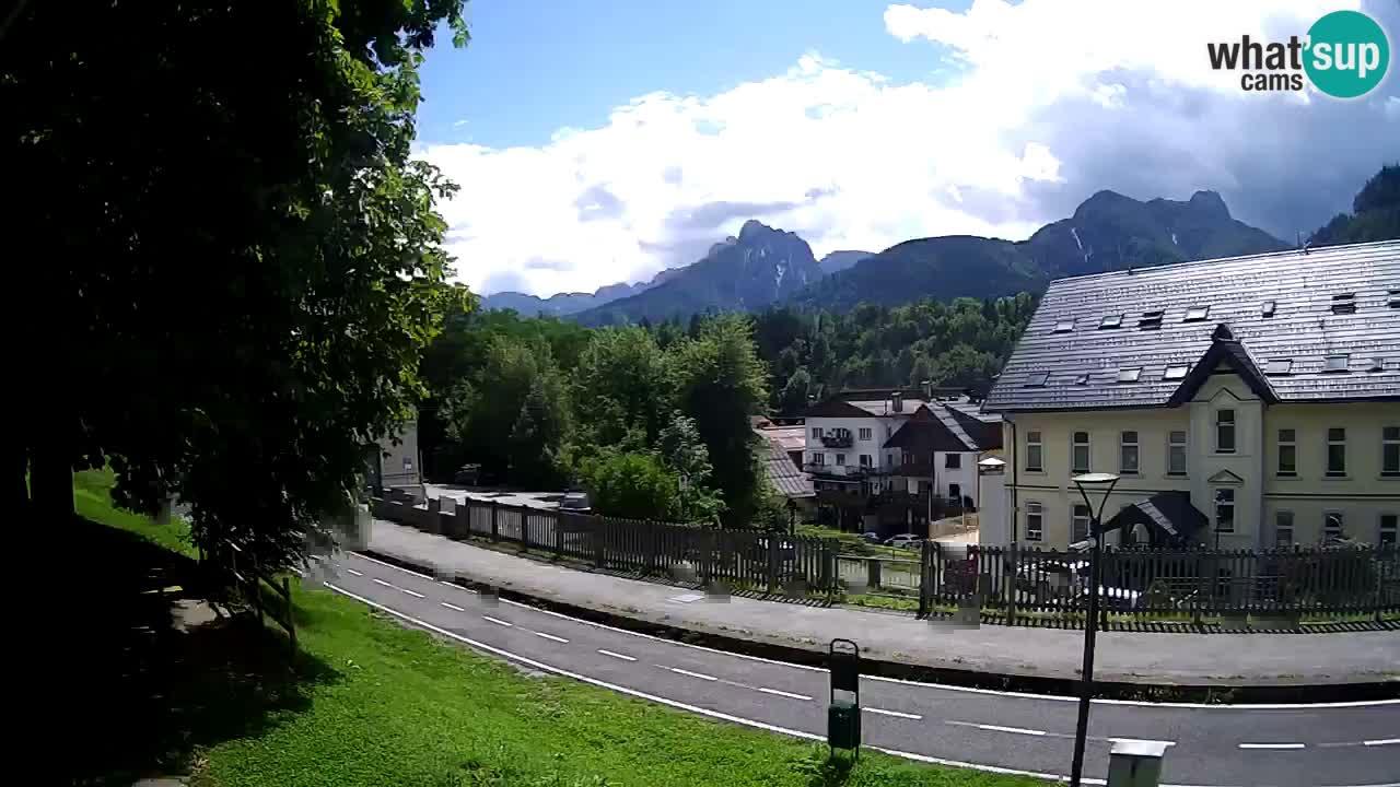 Trbiž kamera u živo – biciklistička staza i Mangart