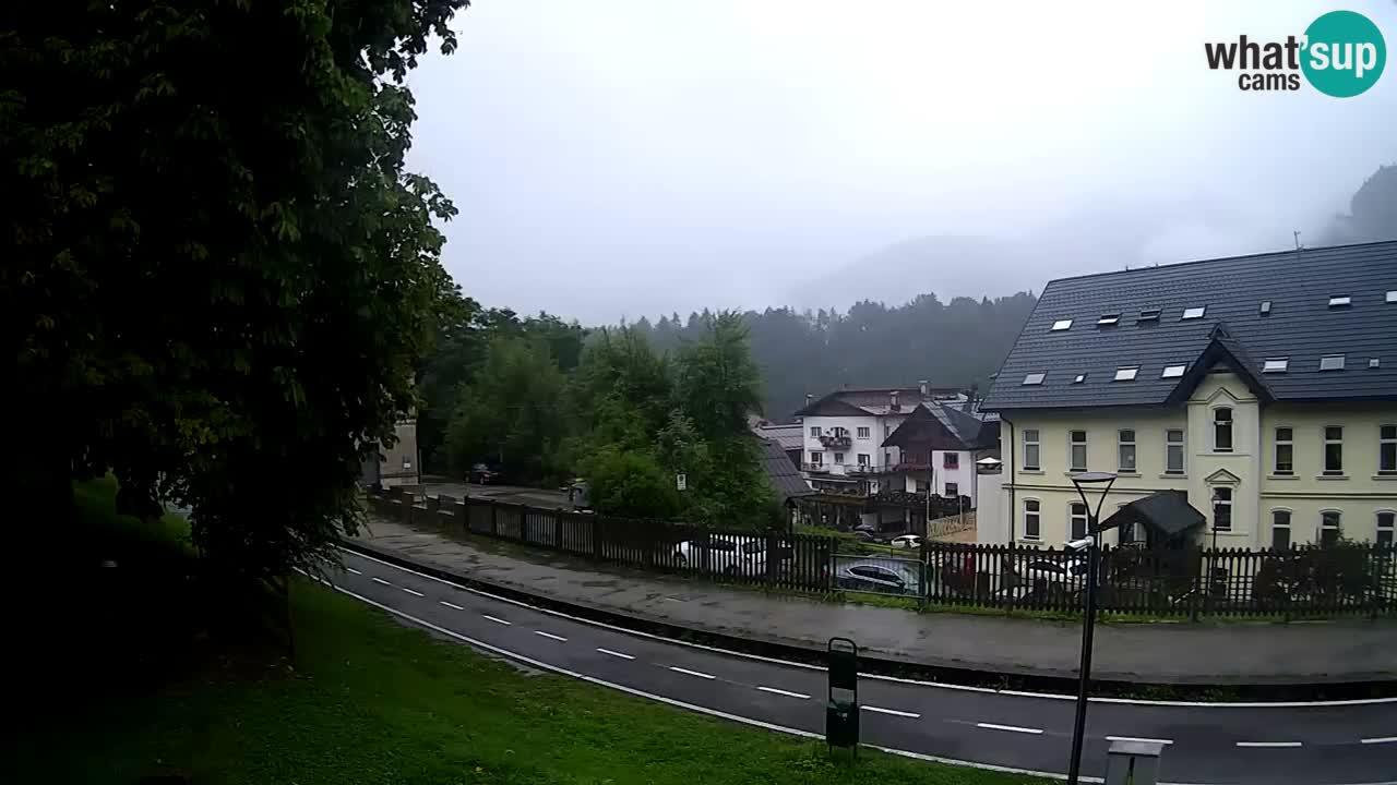 Tarvisio webcam – Bicycle lane and Mangart mountain