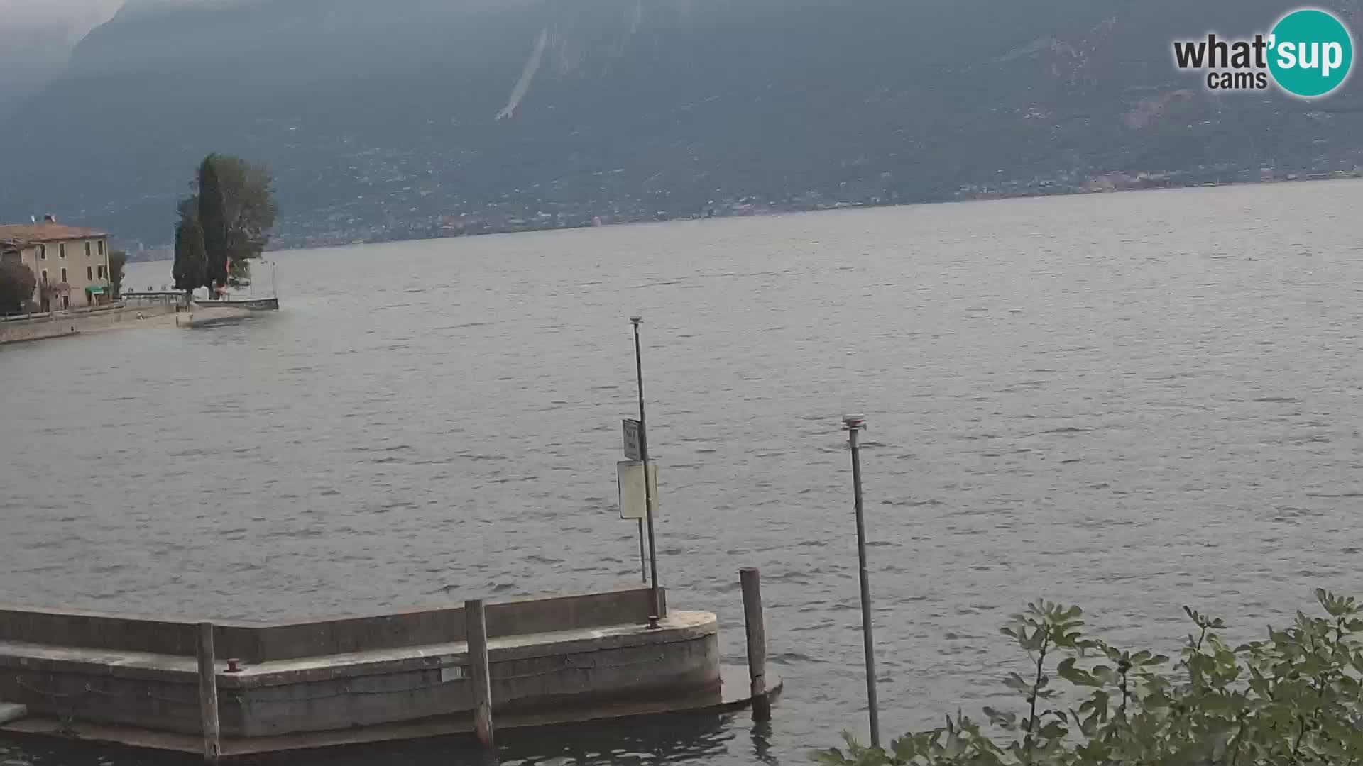 Webcam PRA' DE LA FAM – Porto di Tignale (BS), Lago di Garda