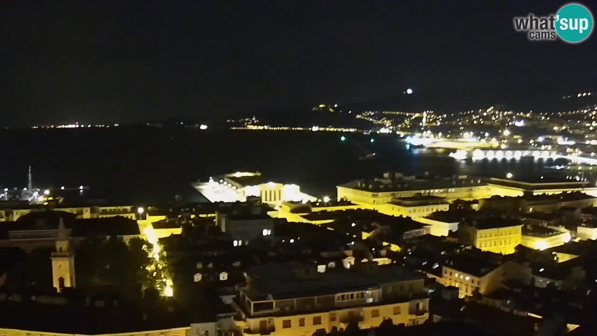 Web kamera Trst – pogled sa svetišta Monte Grisa