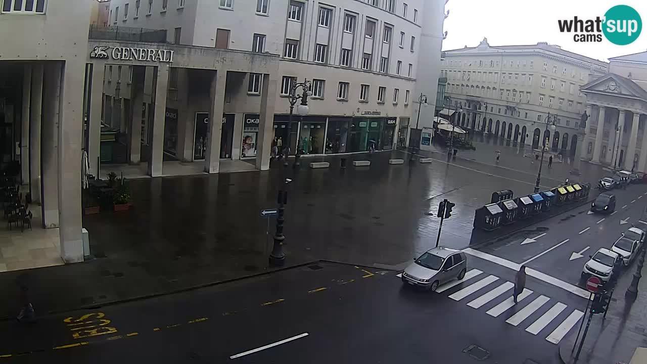Trieste – Borsa square webcam live