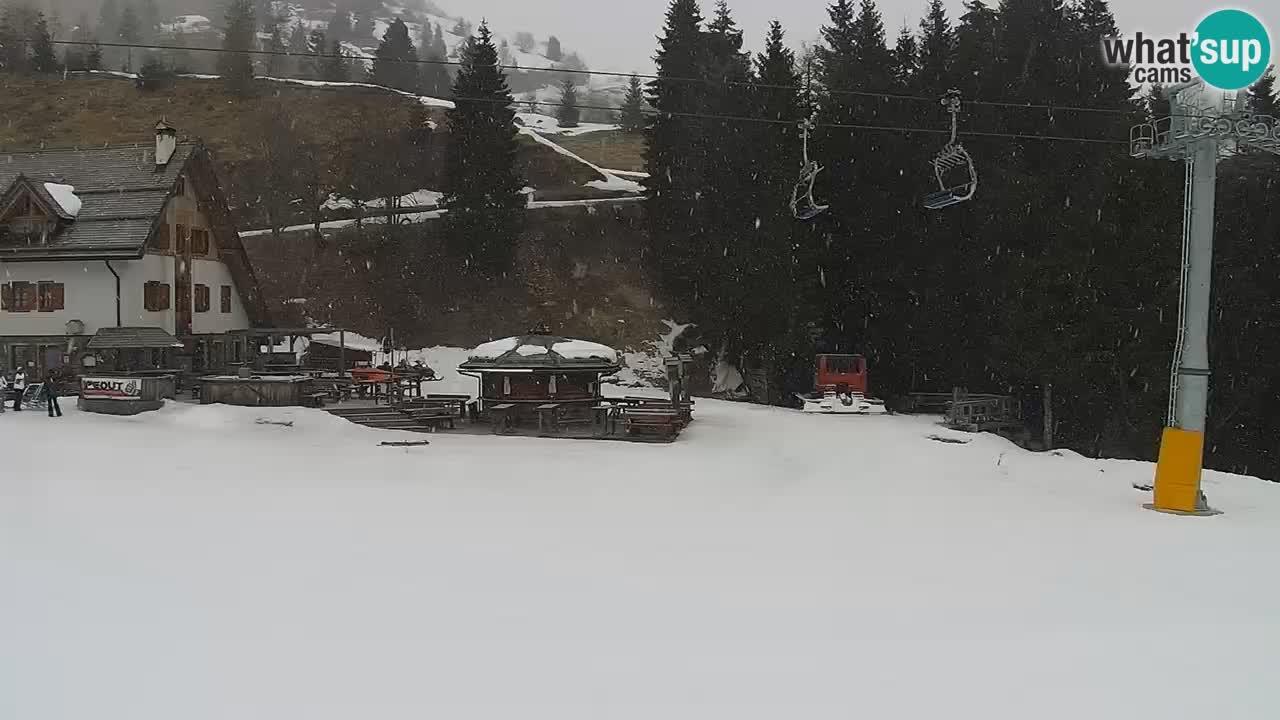 Skigebiet Zoncolan – Berghuette Goles