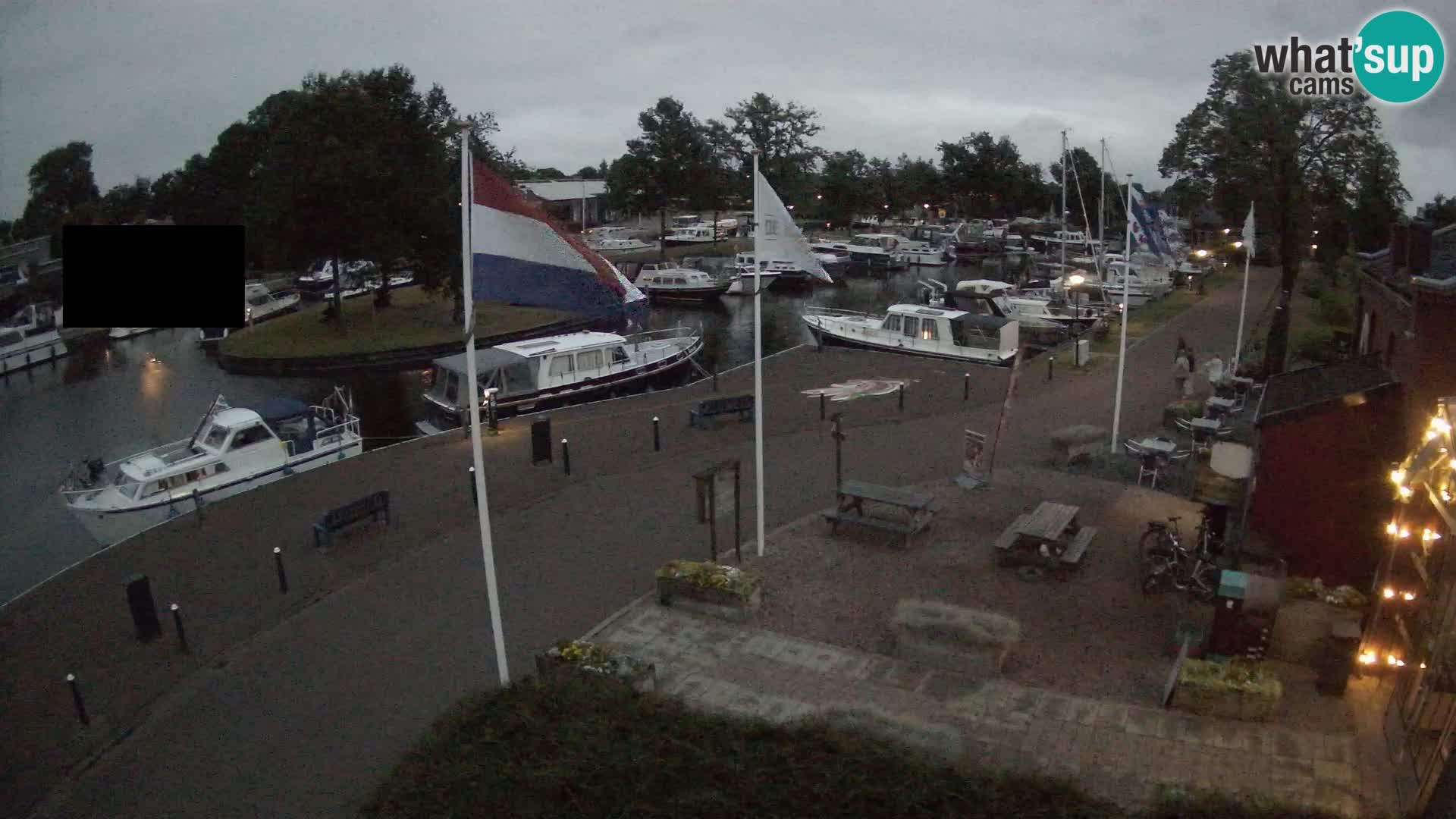 Il porto Joure webcam live