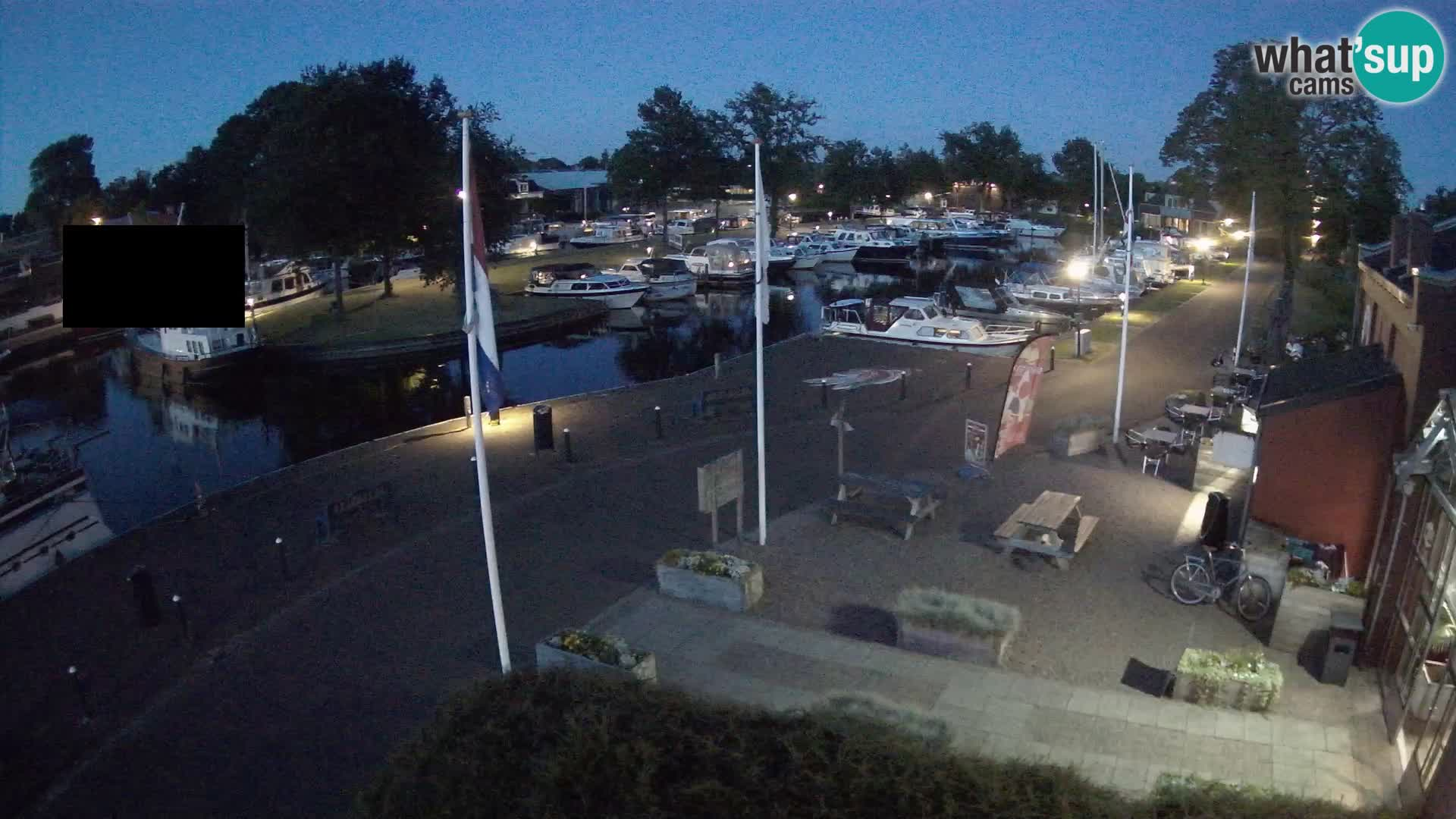 Kamera v živo Joure pristanišče