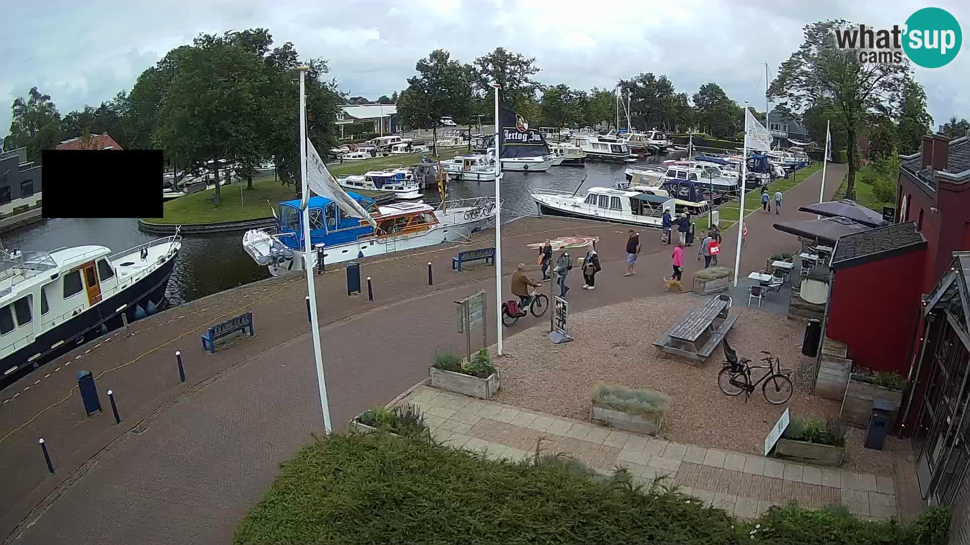 Joure Hafen webcam