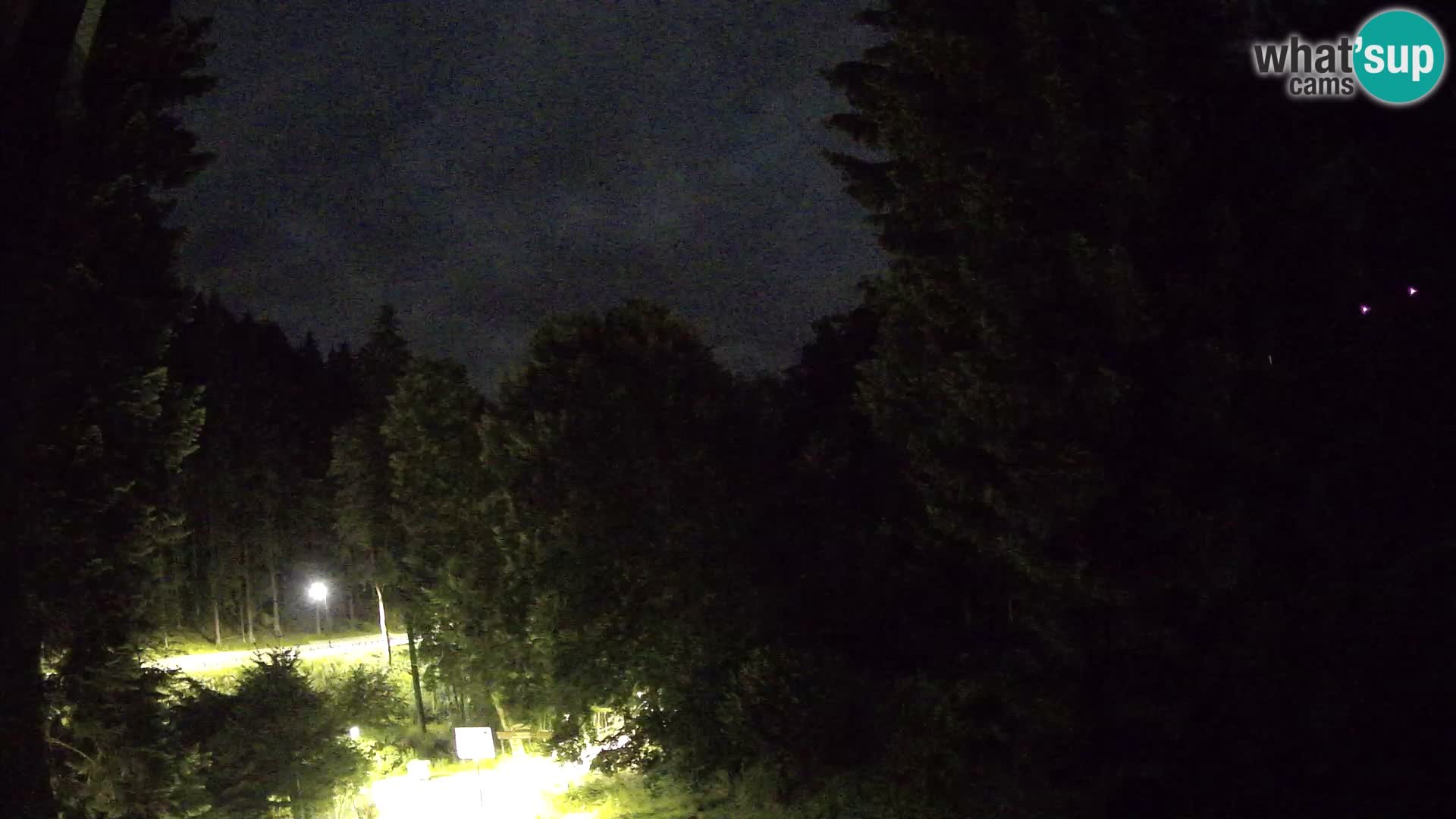 LIVE cam Spalona – Station de ski de fond Spalona webcam Montagnes Bystrzyckie