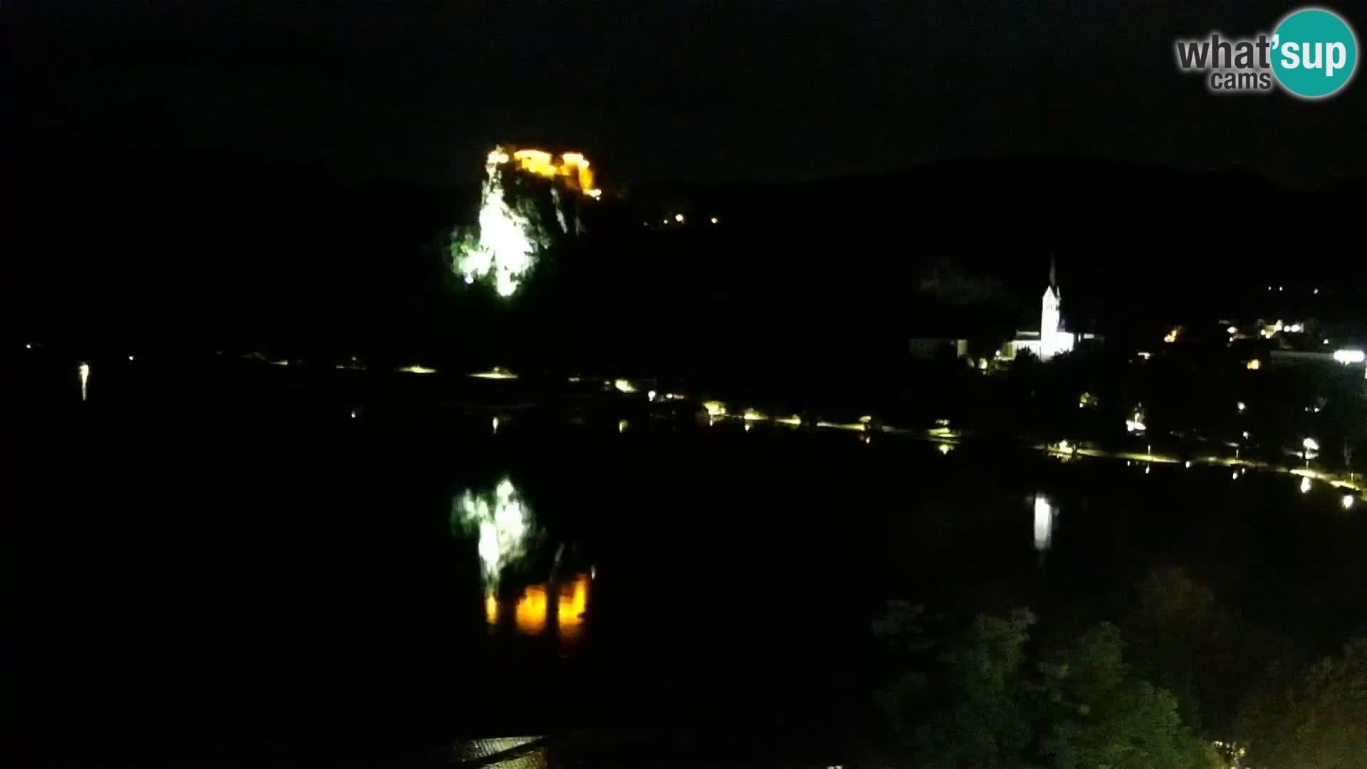 Panorama del lago Bled