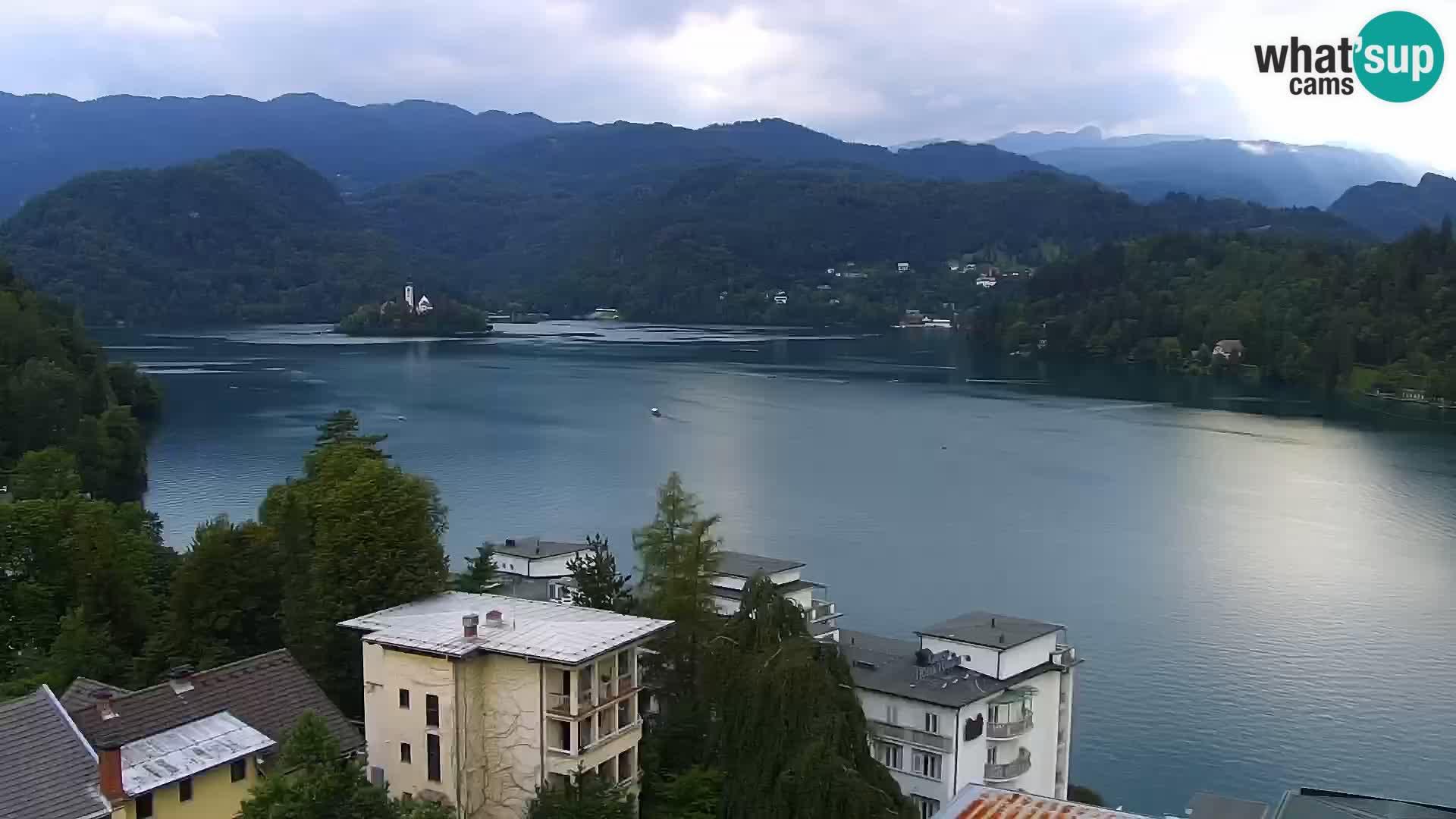 Panorama du lac de Bled