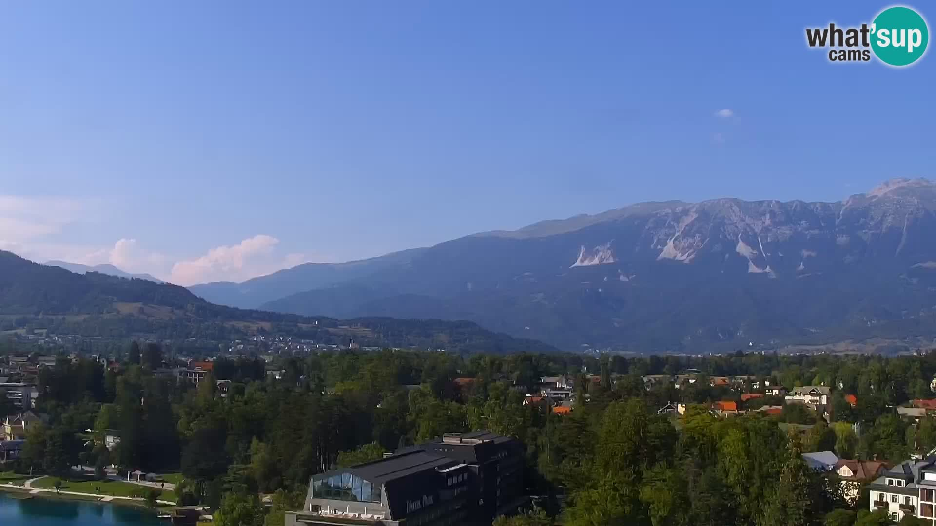 Panorama des Sees Bled