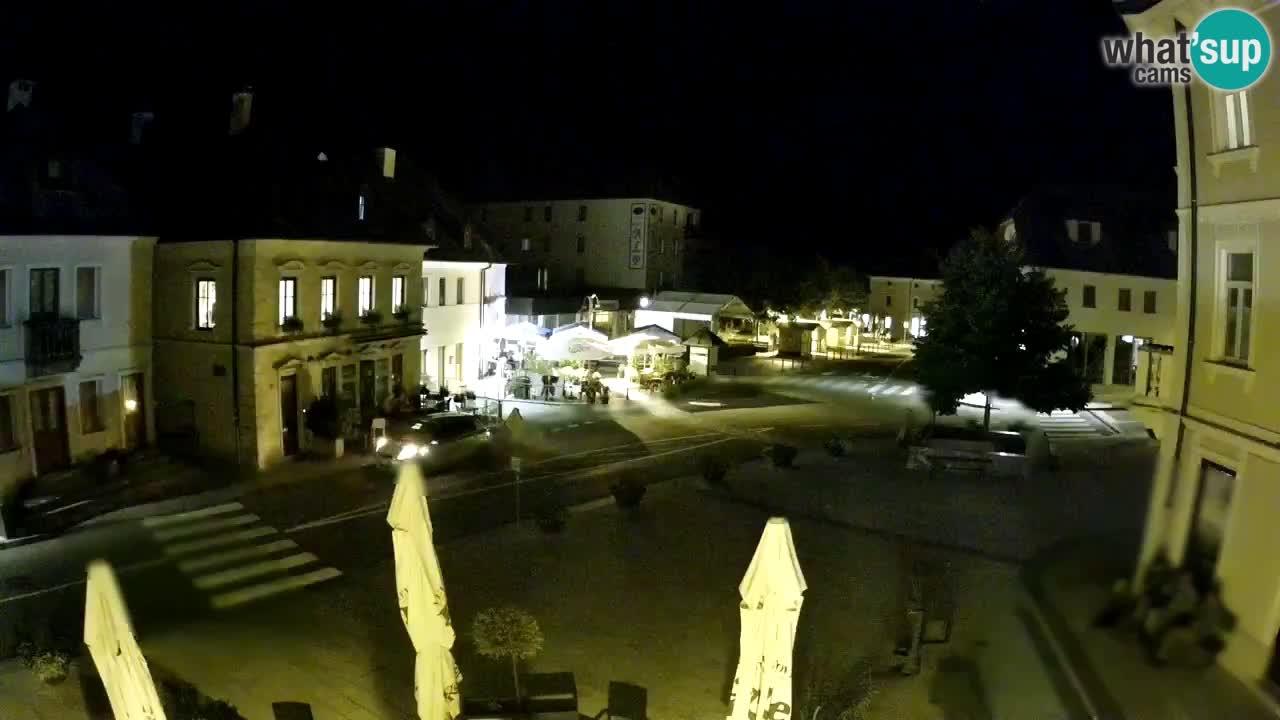 Plaza Central en Bovec