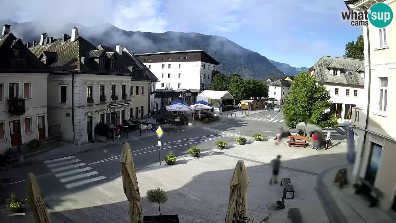 Glavni trg u Bovcu