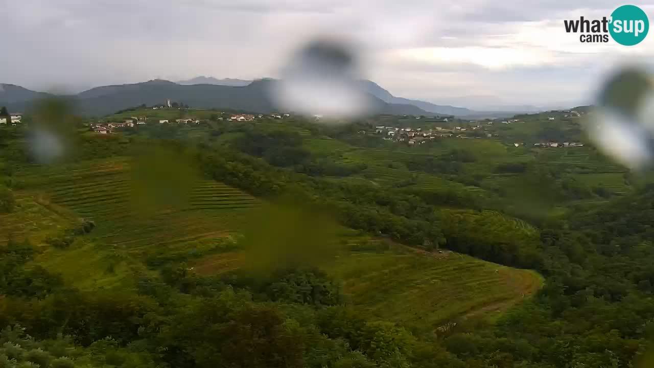 V Živo Šmartno spletna kamera Brda – Hotel San Martin