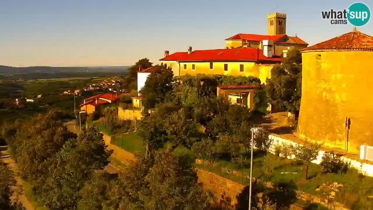 LIVE Šmartno webcam Brda – Hotel San Martin