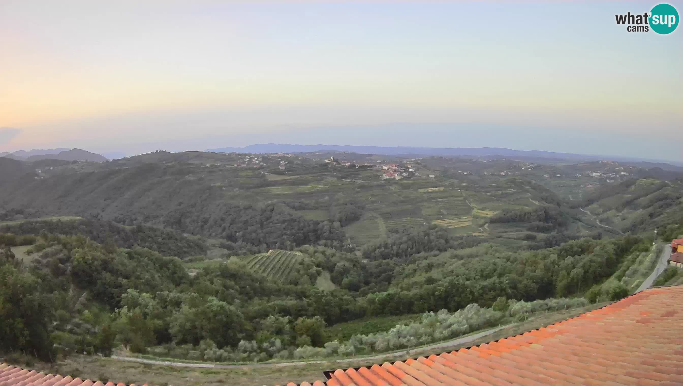 Amazing view of Brda – Slovenia – Višnjevik webcam