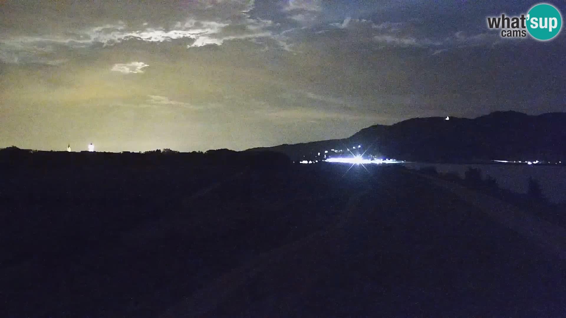 Spletna kamera v živo Brežiško jezero na reki Savi – Slovenija