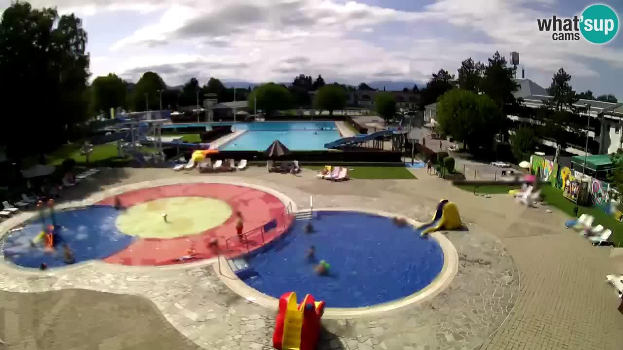 Celje summer open-air swimming pool